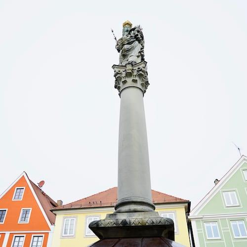 Marienplatz in Mindelheim