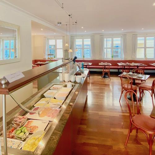 Frühstücksbuffet im Hotel alte Post