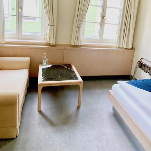 Einzelzimmer mit Blick