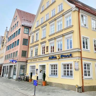 Haus Fassade Außenansicht Hotel alte Post