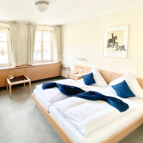 Doppelzimmer im Hotel Post in Mindelheim