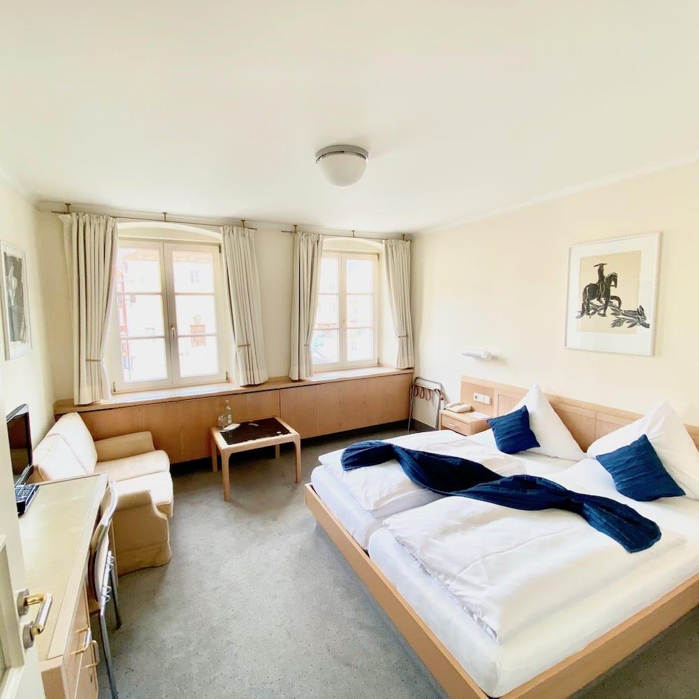 Doppelzimmer im Hotel in Mindelheim