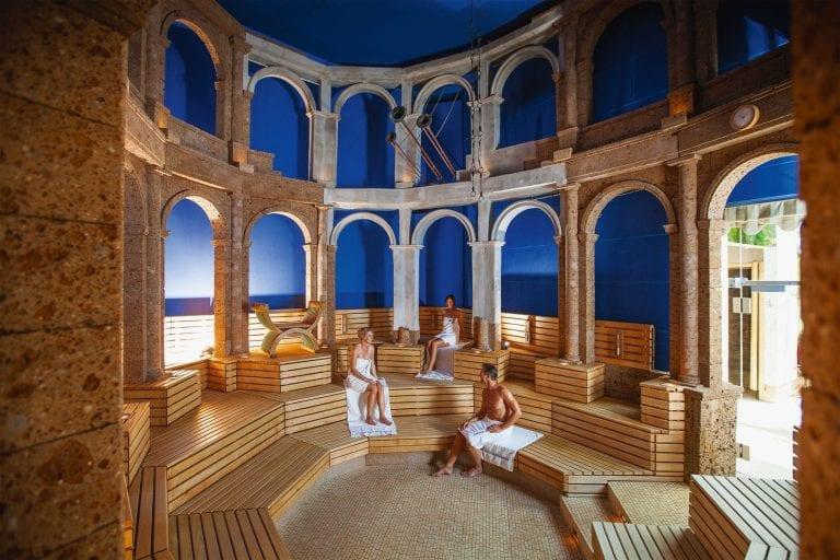 Wir sind Thermenpartner mit unserem Hotel Saunalanschaft in der Therme Bad Wörishofen