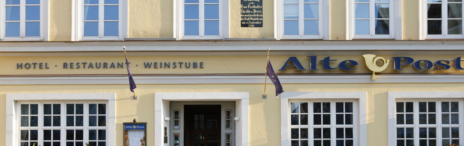 Hotel alte Post Eingang